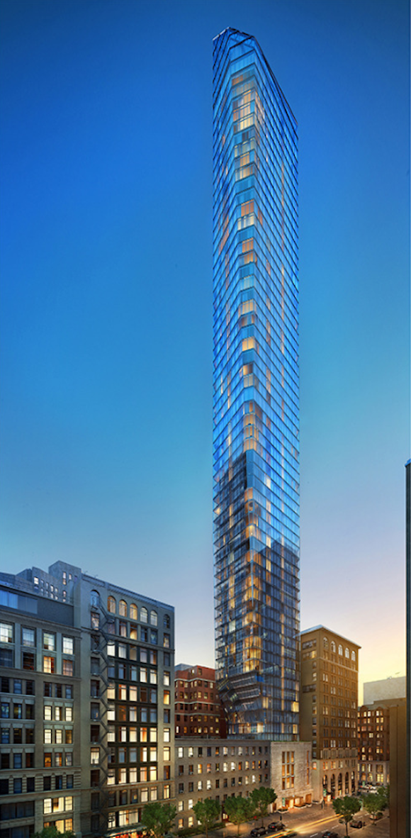 45 East 22nd Street rendering