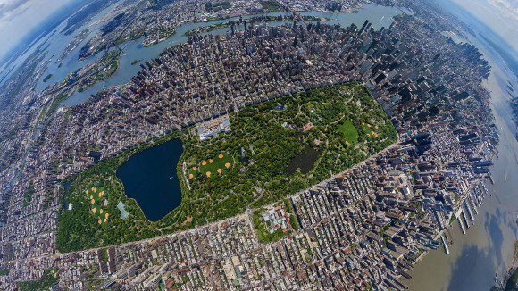 Central Park From Above
