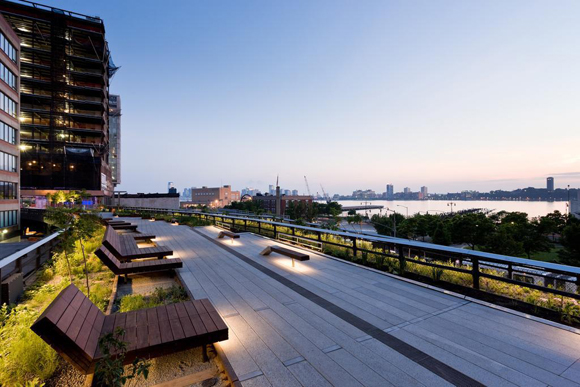 The High Line in Chelsea NYC