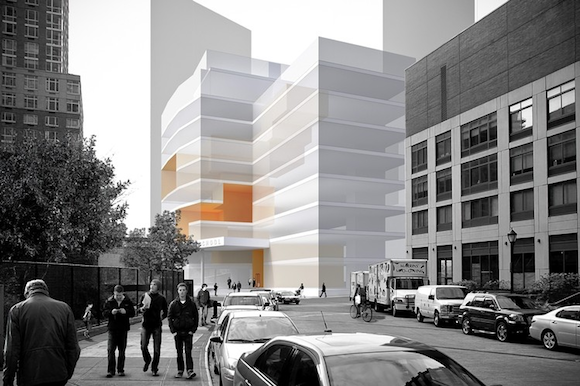 Rendering for West 62nd and West End Avenue