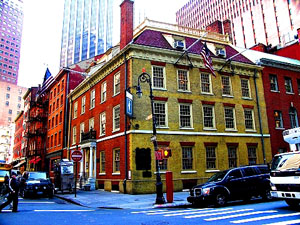 Fraunces Tavern in Manhattan's Financial District