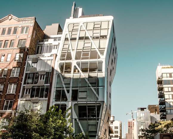 Chelsea Galleries HL23 High Line New Constructions Manhattan
