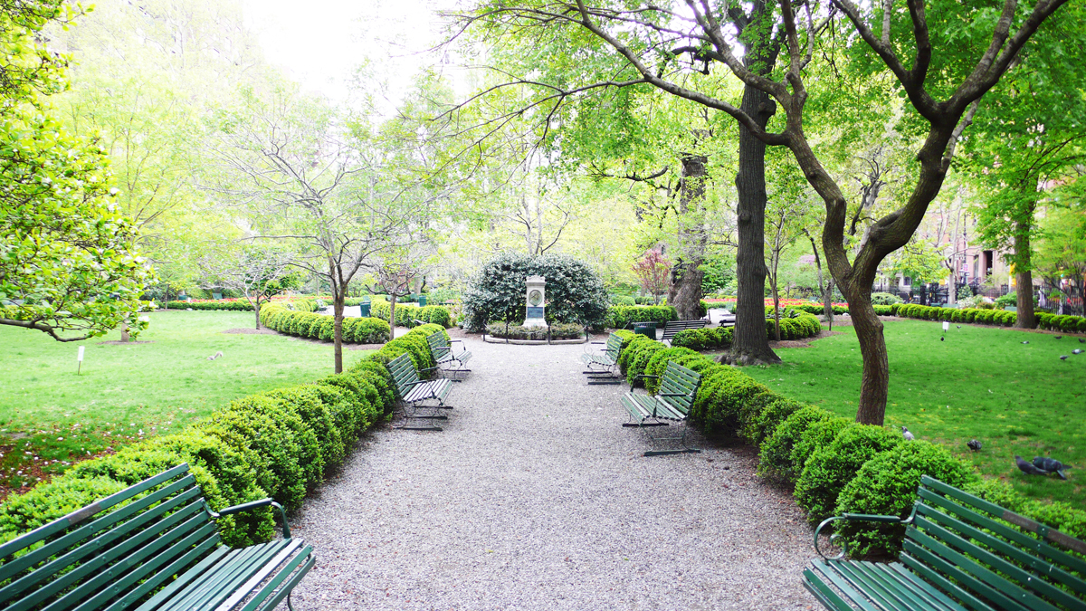 Jane's Walk at Gramercy Park May 5