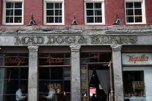 The Exterior of Mad Dog