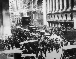 Wall Street created a crisis in the Manhattan real estate market in 1929