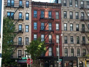 East Village in New York City
