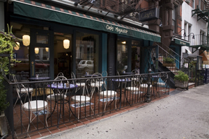 Cafe Mogador in the East Village