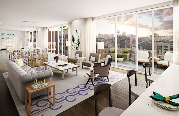 Nyc buying apartments before they are built new for Luxury new york city apartments