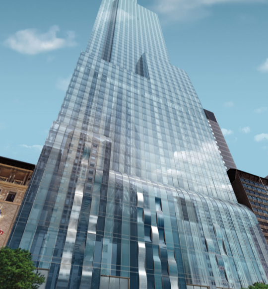 One57 has the most expensive sale of a residential unit in New York City history