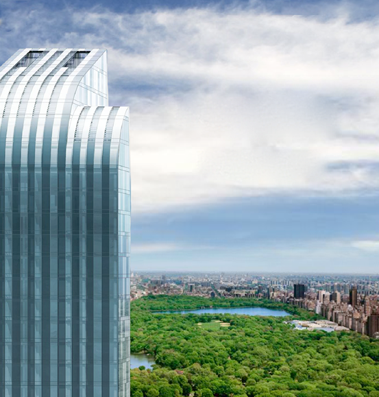One57, a new luxury condo tower in Manhattan's Central Park South neighborhood