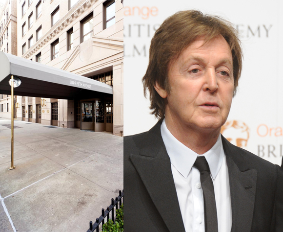 Paul McCartney 1049 Fifth Ave