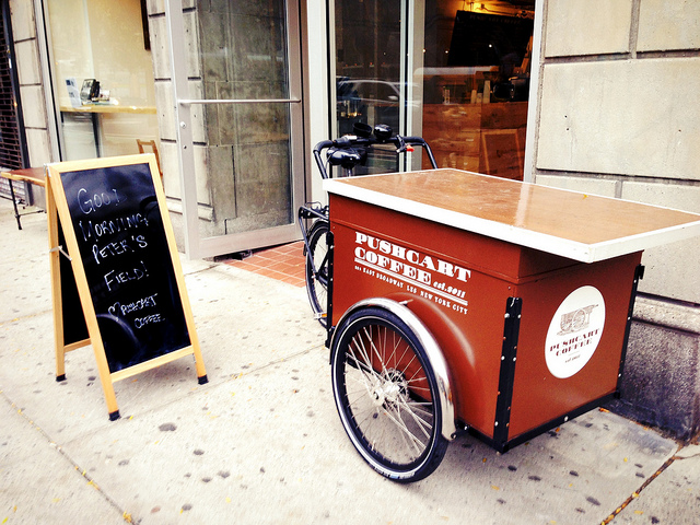 Pushcart Coffee in Gramercy Park