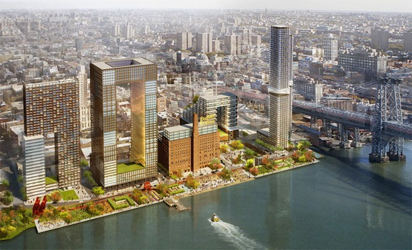 Domino Sugar Factory Rendering
