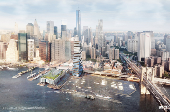 South Street Seaport, Howard Hughes Corporation, Pier 17, Community Conflict