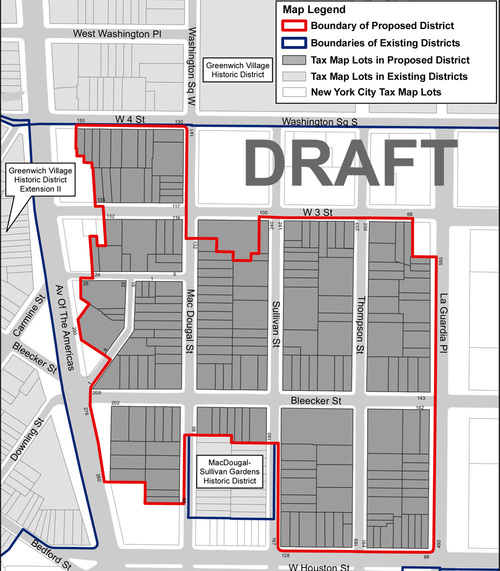 South Village Historical District Rezoning