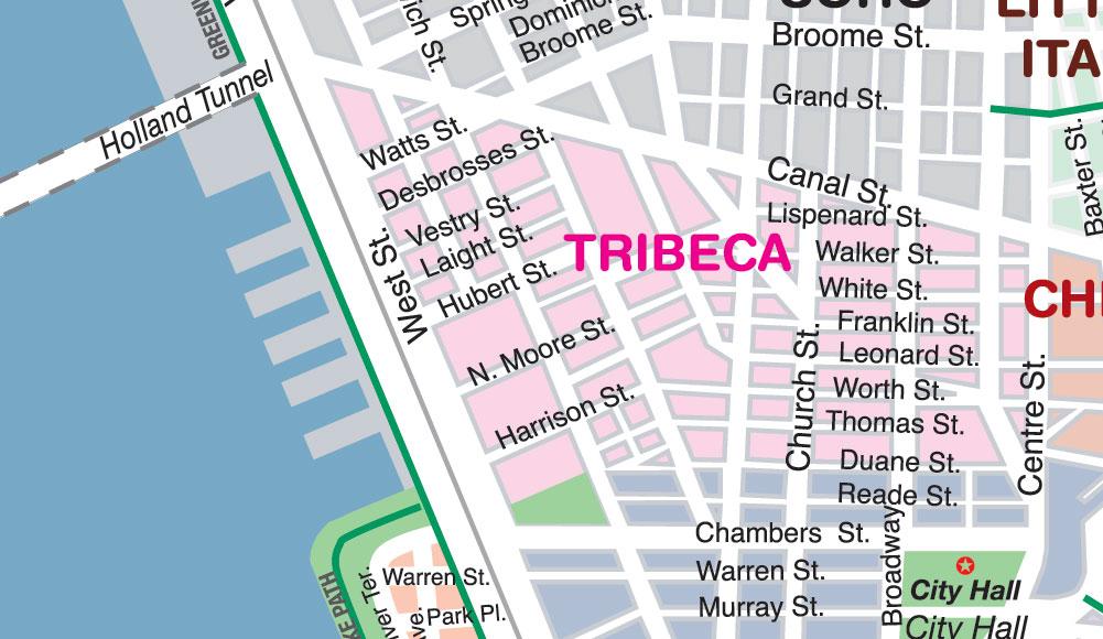 Northern Tribeca is rapidly becoming a hotspot for luxury condos and lofts