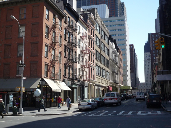 Prices in Tribeca are on the up and up