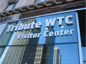 9/11 Tribute Center in Manhattan