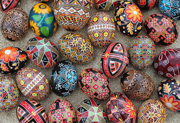 Pysanky Eggs at the Ukrainian Museum