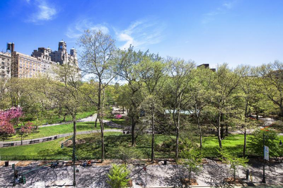 View of the Upper West Side from The Orleans condominium.